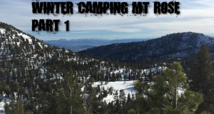 01-05-15 Winter Camping Mt Rose Part 1