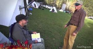 02 Four Dog Stove   Tent Tour   Tent Tour   Winter Camping Symposium 2014