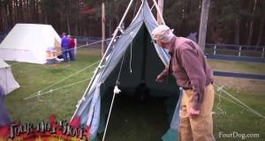 05 Tent Tour | Calvin Rutstrum | Four Dog Stove | Winter Camping Symposium 2014