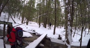 1 17 2015 Part 1 Manistee R. Trail Winter Camping