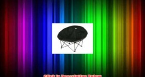 10T Outdoor Equipment Moonchair  Silla plegable para camping color negro plateado y beige