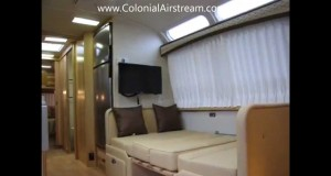 2013 Airstream Classic Limited 31W Luxury Travel Trailer For Glamping Camping Sleeping