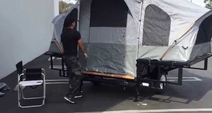 2015 Atv Utility Camping Tent Trailer, Shipping Available