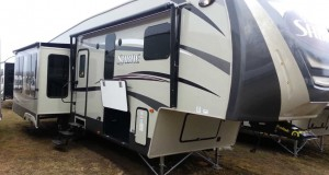 2016 Sabre 33CKTS Luxury 5th Wheel at Camp-Out RV in Stratford