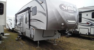 2016 Sabre Silhouette 312RKDS Luxury 5th Wheel at Camp-Out RV in Stratford