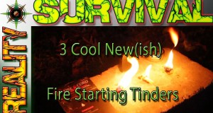 3 Cool New Fire Starting Tinders For Wilderness Survival and Camping