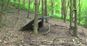 Bushcraft-Washed-out-aborted-overnight-camping-trip-in-the-woods