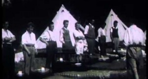 Camping-holiday-for-unemployed-workers-1930s-Film-41109