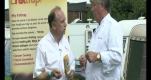 Celebrity-Chef-Brian-Turner-discusses-the-benefits-of-using-FatTrap-for-camping-or-caravan.