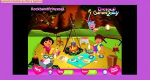 Dora-The-Explorer-Online-Games-Dora-The-Explorer-Camping-Adventure