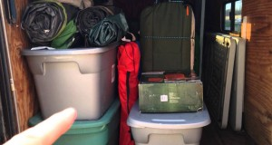 The-stock-trailer-used-for-camping-supplies