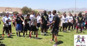 A Foundation for Kids Brandon Browner Football Camp for kids