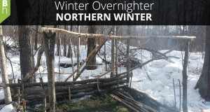 A Winter Camping Overnighter in Northern Canada – Northern Winter –  Bushcraft Heroes