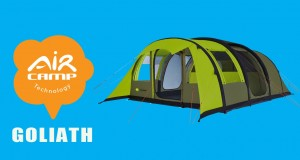 Aircamp GOLIATH : Inflatable Tent | Tente Camping Gonflable