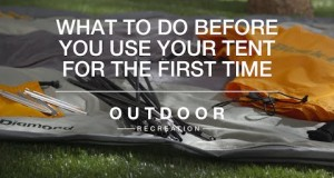 Amazon Outdoor Recreation: What to Do Before You Use Your Tent for the First Time