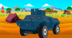 Army Security Truck | Army Camp For Kids | Toy For Kids