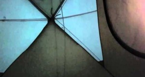 ASMR Camping in the Rain, In the Tent