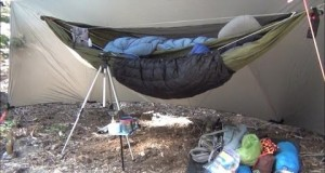 Backpacking Hammock Camping Overnight