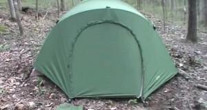 Best tent for Camping: USMC Eureka Combat tent