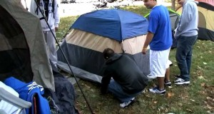 Big Blue Madness – Kentucky Fans go camping