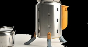 BioLite low-emission camping stove