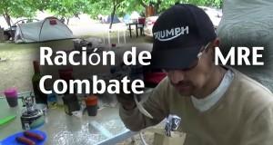 BurgmanChileTV – Moto Camping Tips – MRE – Comida de Combate