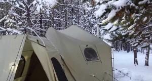 Cabela tent winter comforts