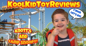 CAMP SNOOPY KNOTT'S BERRY FARM Buena Park Rides for Kids Knotts Review