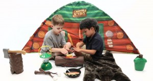 Campfire Kids Indoor Camping Gear: Campfire