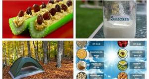 Camping DIY Ideas, Snacks, Homemade Sunscreen & More!