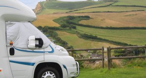 CAMPING HIGHLANDS END HOLIDAY PARK, MOTORHOME / TOURING, CARAVAN AND TENT, DORSET, UK