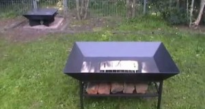 CAMPING IDEAS! HOMEMADE FIRE PITS