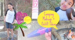 Camping Makeup and Outfit Ideas