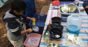 Camping Tip: Easy Peasy Dish-washing with Kids