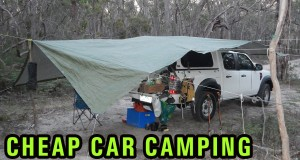 Cheap DIY Car Camping Setup, 4WD campsite