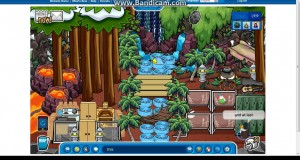 Club penguin igloo ideas Camping igloo and a massive forest