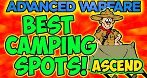 """COD Advanced Warfare – (Ascend) """"BEST CAMPING SPOTS"""" (TIPS & TRICKS)"""