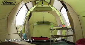 Coleman® Bering 4 – Four person Family Camping Tent