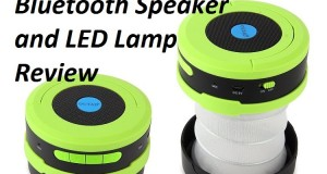 Cool backpacking Gadget ..OUTAD LED Lantern, wireless Speaker review