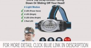 Details LED Headlamp Flashlight for Camping, Running, Hiking, Reading, Kids, DIY & More! Deal