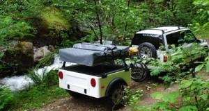 Dinoot modular camping trailers