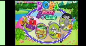 Dora Camp Clean Up – Dora Games Dora The Explorer