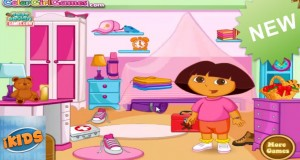 Dora Messy Camp – Dora the Explorer Video Game – Dora Newest Kids Games for Kids