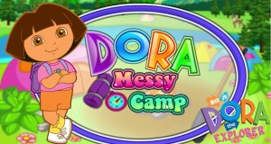 Dora The Explorer – Dora Messy Camp (Best Game for kids 2015)