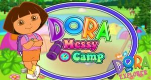 Dora The Explorer – Dora Messy Camp (Best Game for kids 2015)