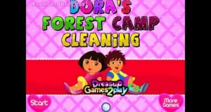 Dora The Explorer Online Games Dora The Explorer Camping Adventure