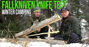 Fallkniven Knife Test | Winter Camping