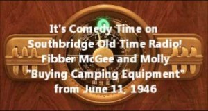 "Fibber McGee and Molly ""Buying Camping Equipment"""