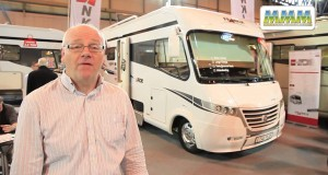 Frankia Luxury 740: motorhome video review – MMM magazine at the 2014 Caravan & Camping Show