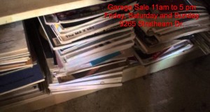 GARAGE SALE in Edmonton, 9265 Strathearn Dr. 11am to 5 pm Fri to Sat.